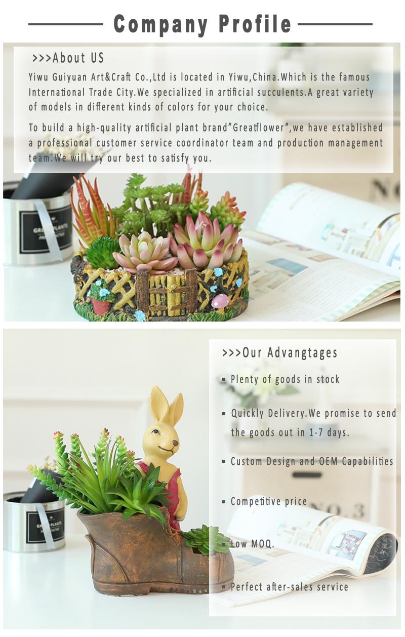 Pianta Decorativa Realistica Fiore in vaso Artificiale