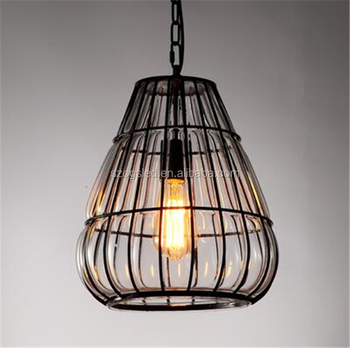 Thailand corridor lighting modern clear glass cage pendant lamp thailand corridor lighting modern clear glass cage pendant lamp mozeypictures Image collections