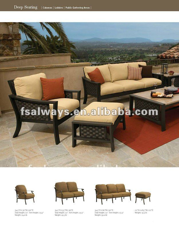 Leisure modern rattan or wicker furniture