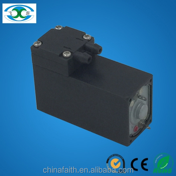 3V 2 l/min electric dc brush diaphragm small vacuum pump,