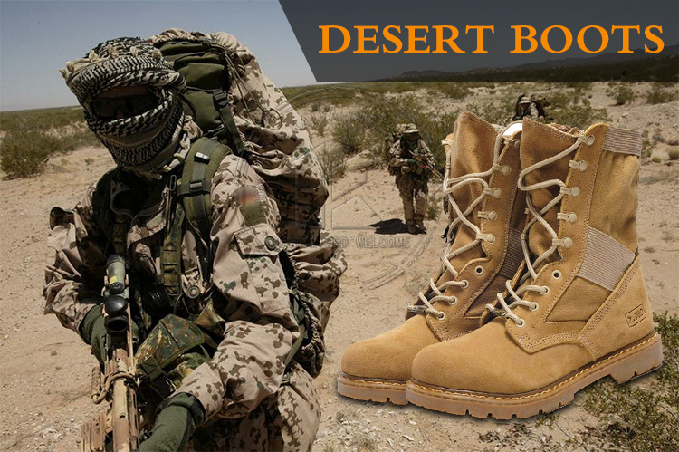 Military Boots Usa Desert Camo Boots Custom Combat Boots - Buy ...