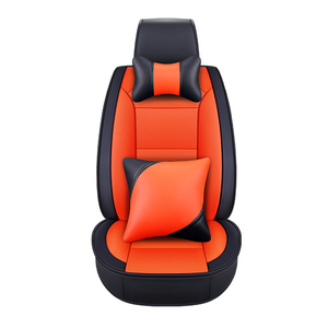 fancy lunxury assorted colors PVC/PU leather car seat cover all surrounded fit almost all cars auto accessories