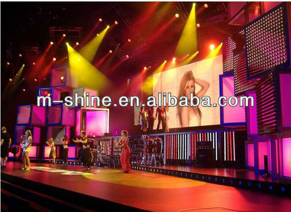Alibaba China Quick Deliver P4 LED Display for Stage Rental
