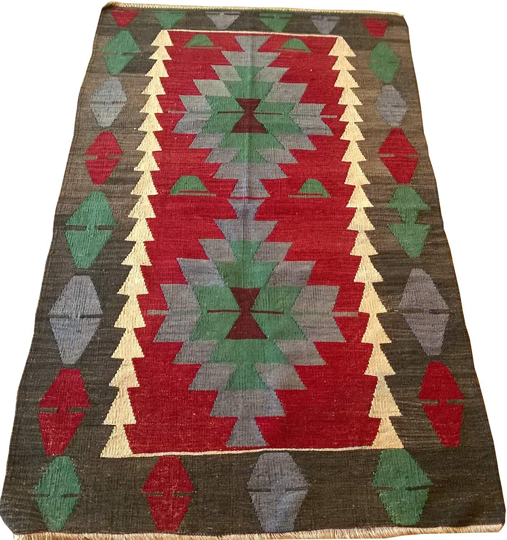 Superbe Get Quotations · Bedroom Decor Wool Rug 2.72 X 5.00 Ft Kilim Area Rug  Handwoven Woolen Natural Dye Kilim