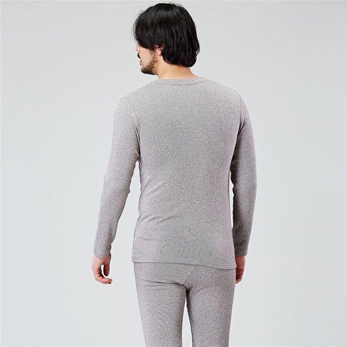 Wholesale Plain 100 Cotton Men's Pajamas for Winter