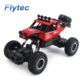Flytec SL-109A 2.4G 1:20 2WD Alloy Off-Road  Remote Control Car Toy Red
