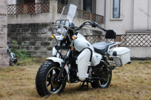 cheap 150cc cruiser chopper motorcycle with side box