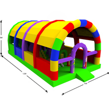 Funny games children outdoor inflatable park for sale