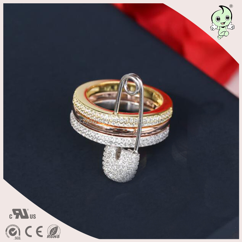 d781f692b03a Joyería famosa Y de Alta Calidad Especial Para Jóvenes Pequeña Orden Pin Diseño  925 Anillo de