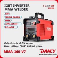 ZX7 Series inverter welding MMA-160 stick arc welding machine