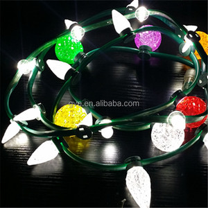IP65 C7 Color Changing Indoor and Outdoor Decoration SMD LED Rope String Light