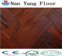 American Walnut Finger Joint fishbone flooring factory price