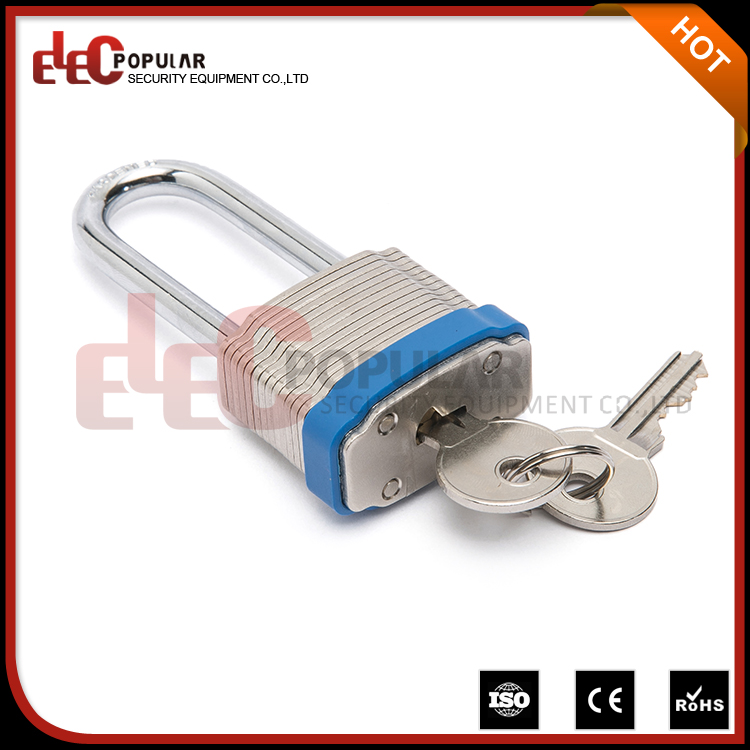 Elecpopular New Products 2017 Laminated Luggage Safe Padlock With 34mm Lock Body