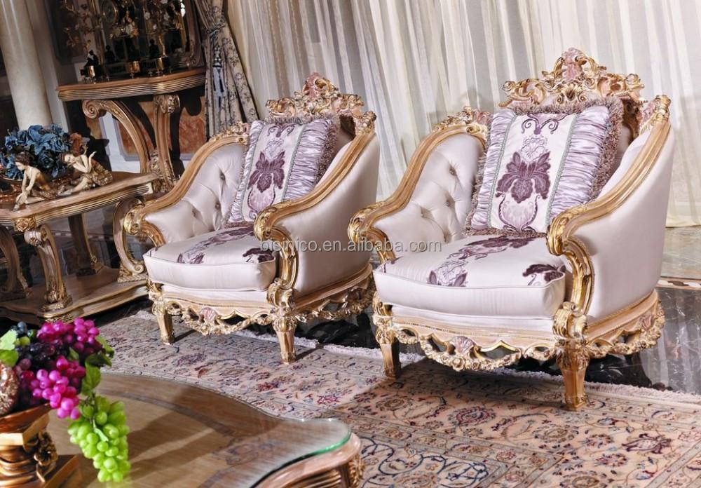 Nieuwe franse klassieke elegante woonkamer meubels/retro houten ...