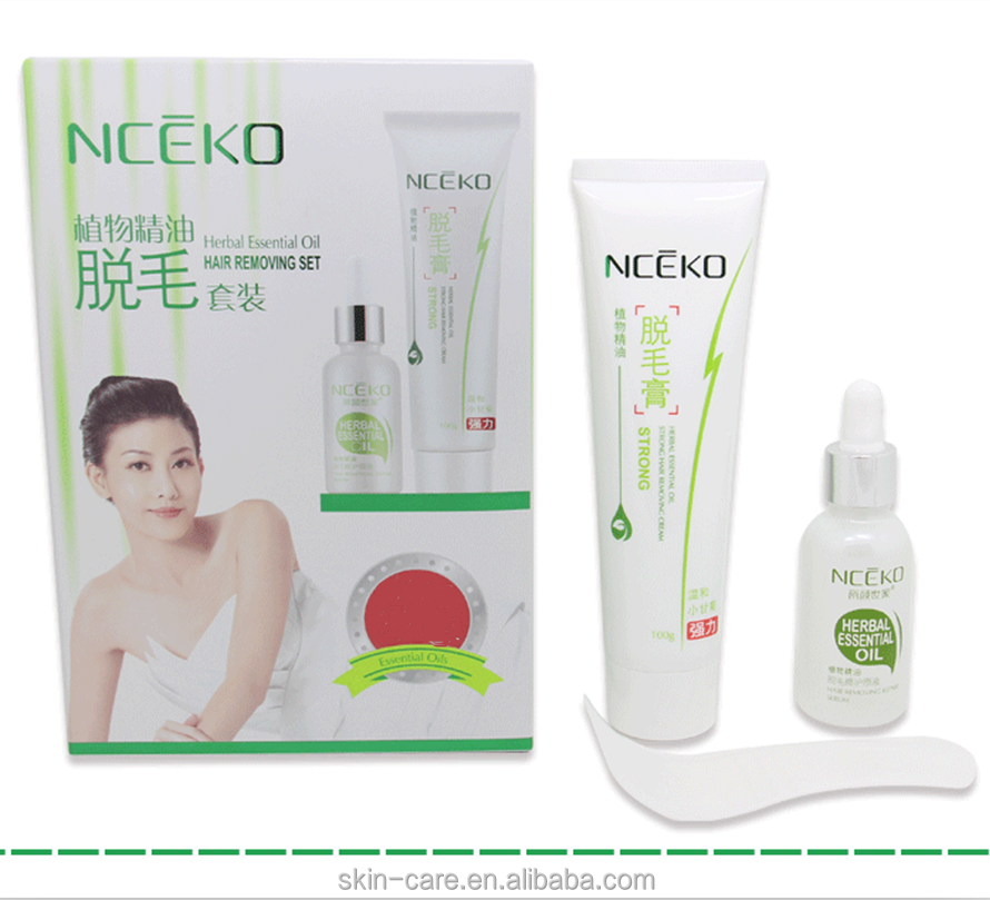 Nceko plant essential oil tender and smooth body permanent hair removal