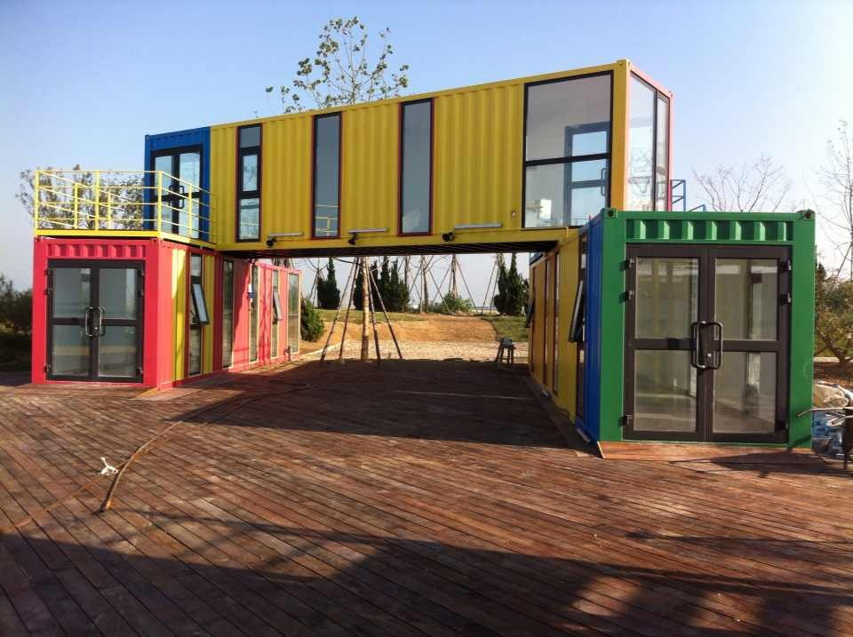 Modern Ocean Container Homes Shipping Container House