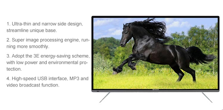 Factory Wholesale Price Led Tv 55 Inches 4k Smart Led Tv 55