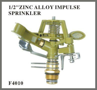 "1/2""ZINC ALLOY IMPULSE SPRINKLER"
