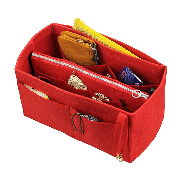 Felt liner แทรก Divider กระเป๋า Shaper สำหรับกระเป๋าถือ LV กระเป๋า