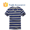 Custom Striped T-Shirt Short Sleeve Casual Shirt Mens Striped Tee Shirt