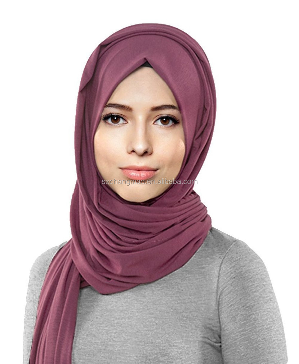 Womens Lightweight Girls Cotton Jersey Hijab Scarf Buy