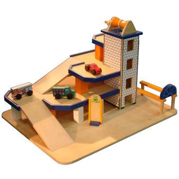 Wooden Toy Garage Wooden Miniature Garage Kids Toy Set Py2087 Buy