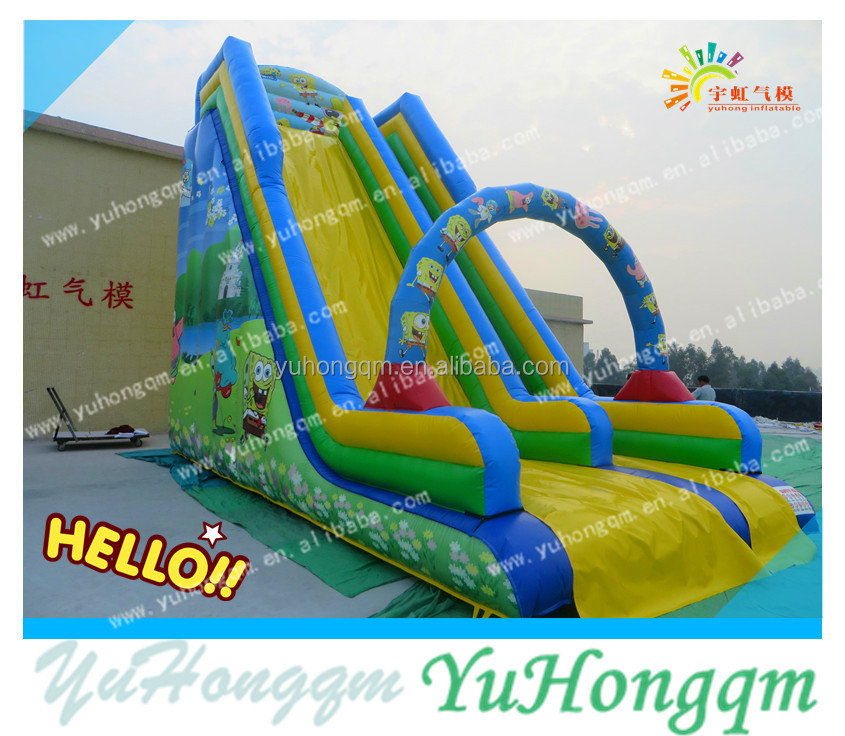 2016 China hot-selling beautiful slide inflatables, toys inflatable