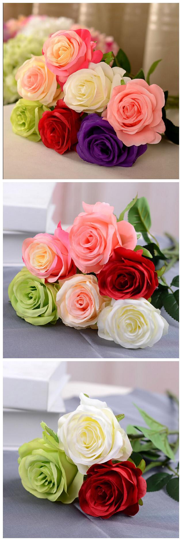 Cheap wholesale fake artificial plastic fake flower rose for sale cheap wholesale fake artificial plastic fake flower rose for sale home wedding decoration izmirmasajfo Choice Image