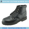 Genuine leather rubber sole good year welted boots safety boots for men