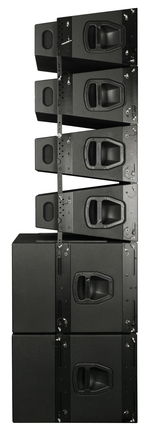 Pa Speakers Design+mini Line Array+dual 10inch 700w Rms+neodymium ...