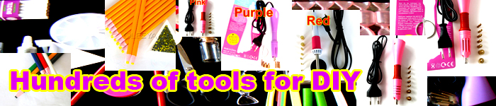 Hot sale factory wholesale price DIY tool pink purple color hot fix rhinestone applicator