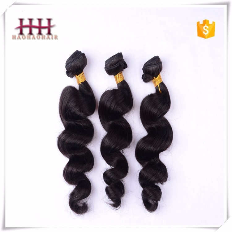 Hot Selling High Quality Loose Wave Grade 7a Real Mink Brazilian Hair