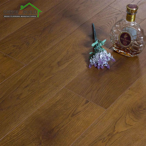 Brown Texture Wood Look Laminate Flooring Hdf