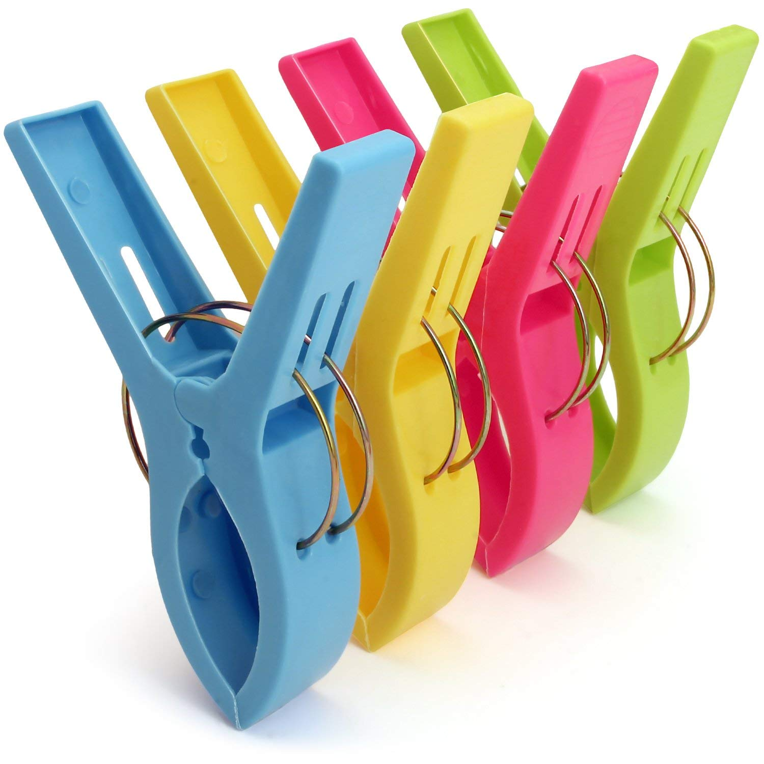 4pcs Large Plastic Towel Clips Pegs Beach Quilt Clothes Pins Sun Lounger Sunbed Complete In Specifications Drying Racks & Nets