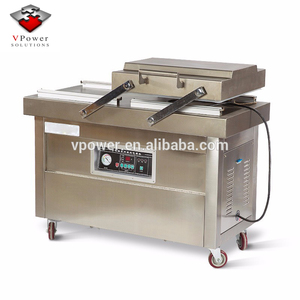 Guangzhou Factory DZ500 Double Chamber Vacuum Packing Sealing Machine Sealer For Meat,Beef,Sea Food,Tofu,Mushroom,Peanut,Rice