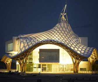 Building Roof Architecture Tensile Membrane Structure