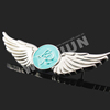 Custom Metal Pilot Wings Pin Badge,metal pin badge making,custom made metal badges