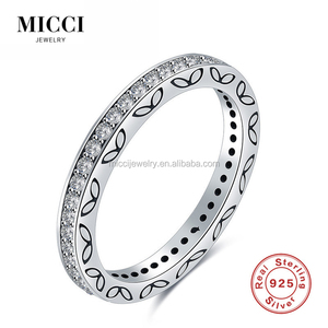 Wholesale Alibaba sterling silver ring pattern jewelry italy cz inlaying silver 925 jewelry ring men and women