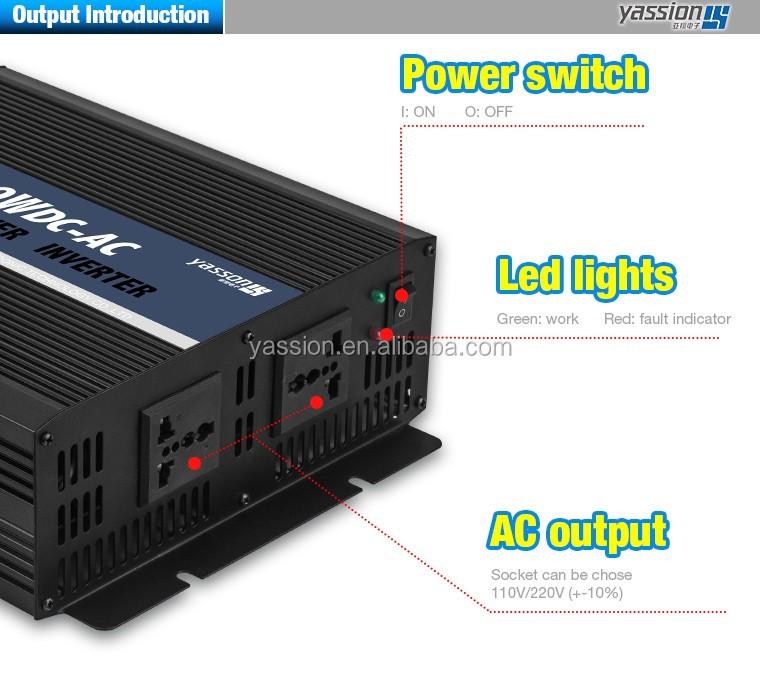 50hz 60hz 110v 220v spanning frequentie converter 1000 watt omvormer, off grid thuis omvormer 1000 w