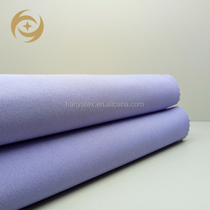 Wholesale 95polyester 5spandex moss crepe definition fabrics for shirts man