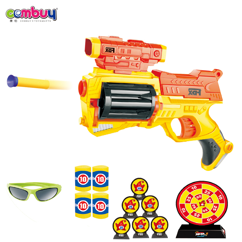 Wholesale good quality EVA toys shoots bullet soft ball gun