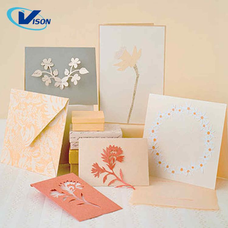 Бумажная открытка а4