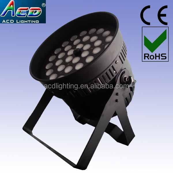 high power 360w 36*10w dmx zoom 10-60degree 4 in 1 RGBW led zoom par