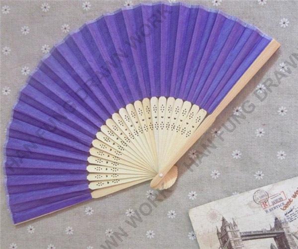 Западный стиль бамбуковые дешевые персонализированные шелковые веера фламенко
