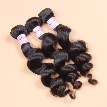 Free Shipping Natural black color high quality 100% loose wave aliexpress wholesale virgin malaysian hair