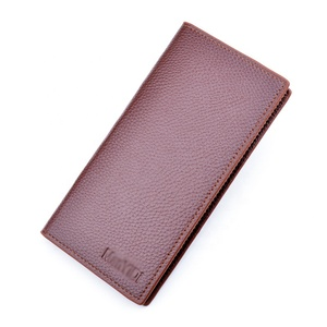 Hot sale wholesale Custom cheap fashion Soft high quality leisure human pu leather men short wallet