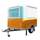China snack food truck cart with factory price