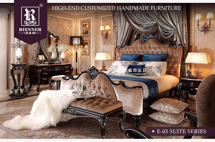 Luxe Bed Kamer Meubels,Klassieke Meubels Egypte Antieke Houten ...