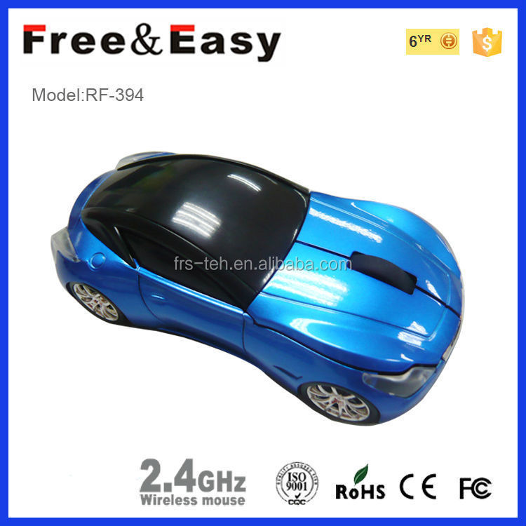 OEM factory car shape 2.4G usb corporate gift wireless mouse