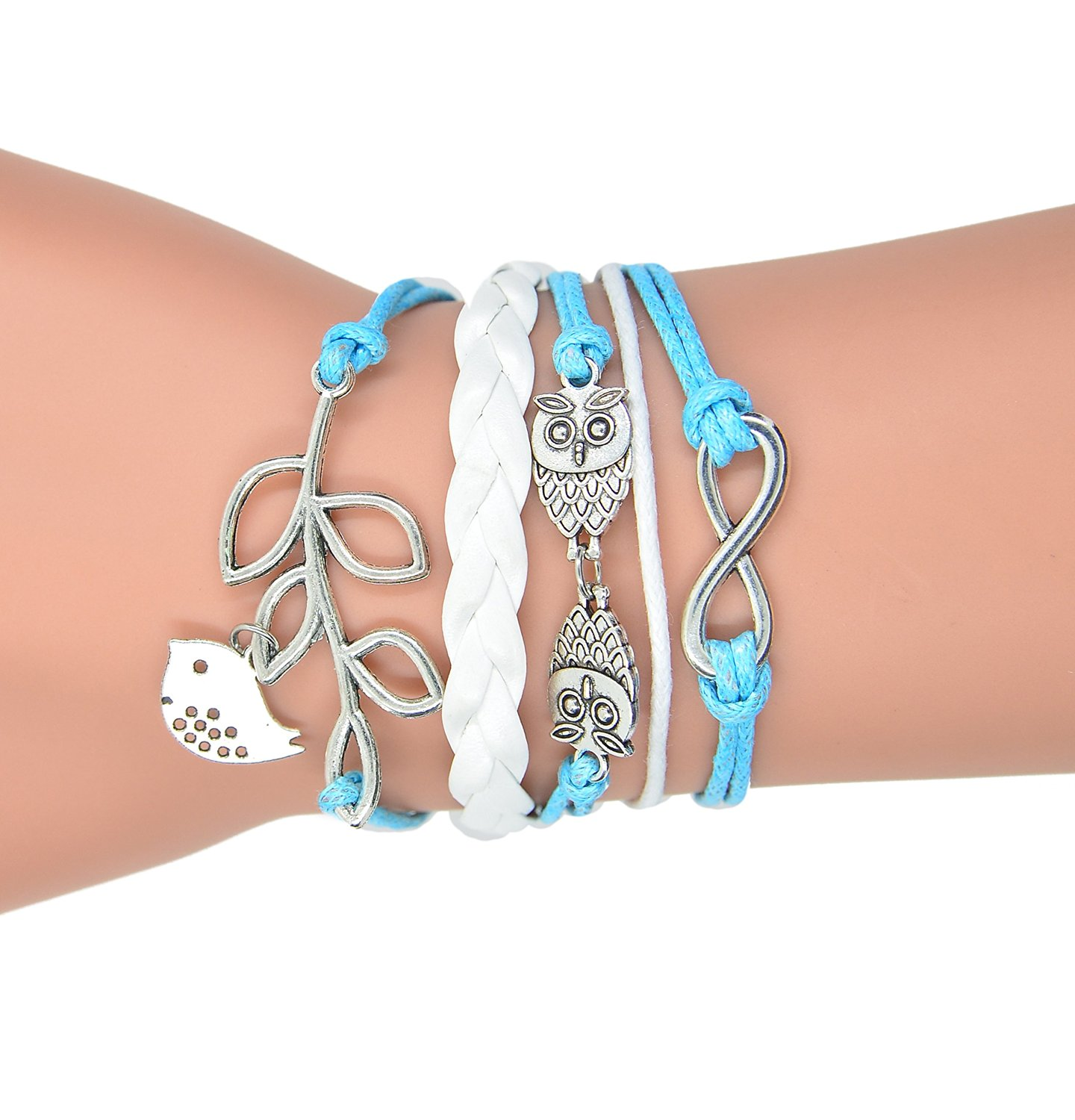 blue products mystic nautical knotwork bracelet colors knot paracord stripe shackle sailboat rope